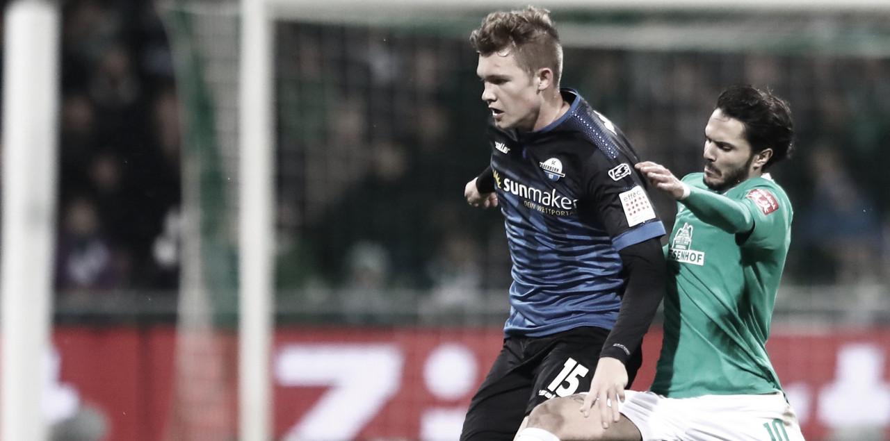 Zagueiro do Paderborn, Luca Kilian se torna primeiro jogador na Bundesliga com Covid-19
