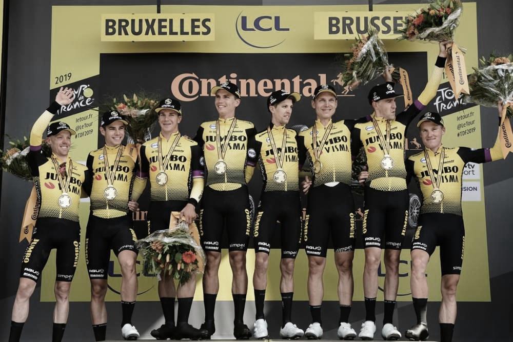 Jumbo-Visma vence contra-relógio e Teunissen mantém liderança no Tour de France