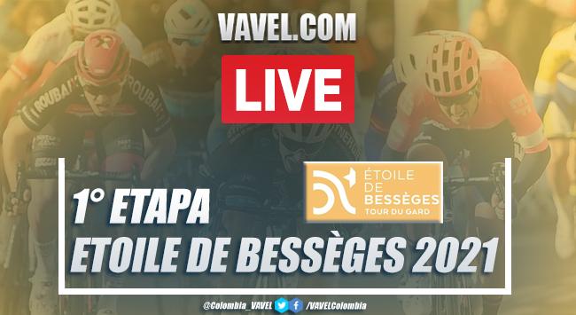 Resumen Etoile de Bessèges 2021 etapa 1 en Bellegarde