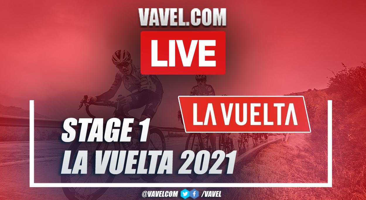 Highlights stage 1 of La Vuelta 2021: Burgos - Burgos (CRI)