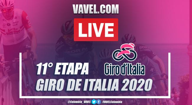 Giro de Italia EN VIVO resumen etapa 11: Sant'Elpidio - Rimini
