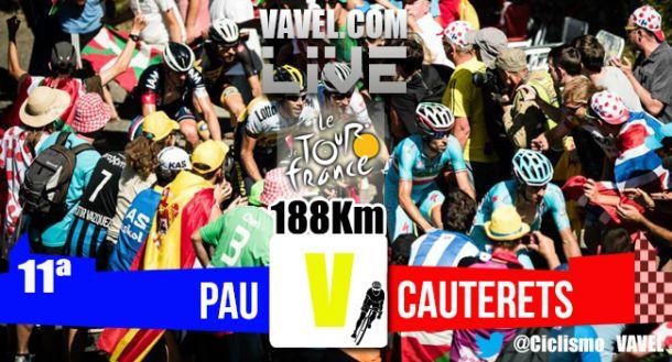 Resultados de la etapa once Tour de Francia 2015:Cauterets - Vallée de Saint-Savin