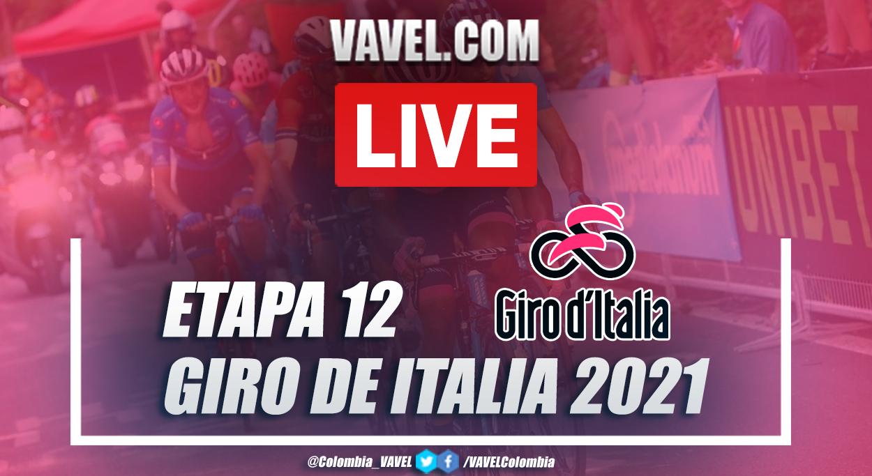 Resumen etapa 12 Giro de Italia 2021: Siena - Bagno di Romagna
