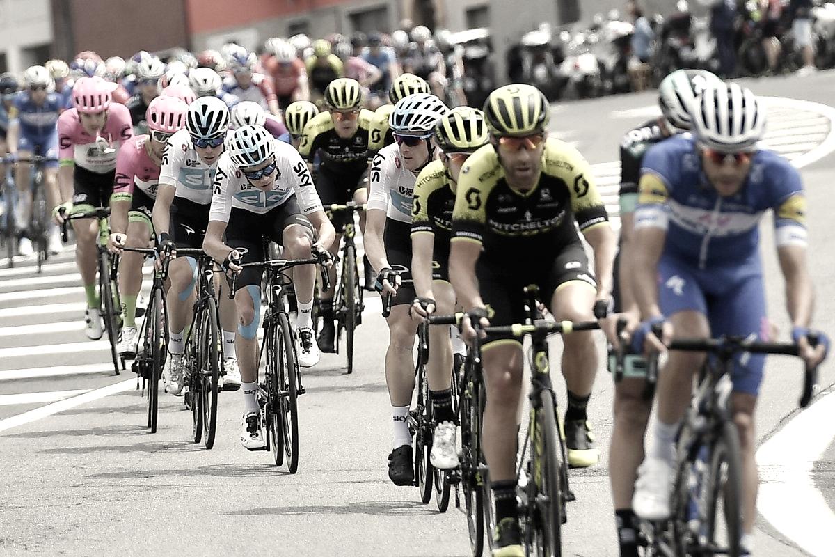 Resumen Etapa 13 Giro de Italia: Viviani consiguió cruzar el primero la meta