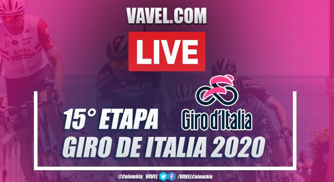 Resumen Giro de Italia EN VIVO, etapa 15: Base Aerea Rivolto - Piancavallo 2020