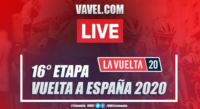Resumen Vuelta a España EN VIVO etapa 16: Salamanca - Ciudad Rodrigo