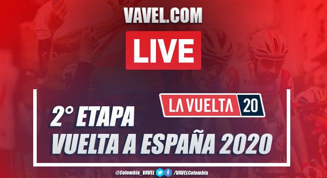 Vuelta a España 2020 EN VIVO, resumen etapa 2: Pamplona - Lekunberri