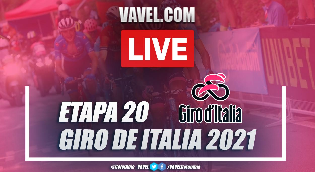 Resumen etapa 20 Giro de Italia 2021: Verbania - Valle Spluga-Alpe Motta