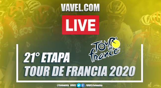 Resumen Tour de Francia: resumen etapa 21, entre Mantes-La-Jolie y París