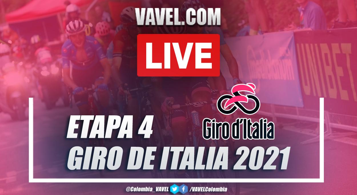 Resumen etapa 4 Giro de Italia 2021: Piacenza - Sestola