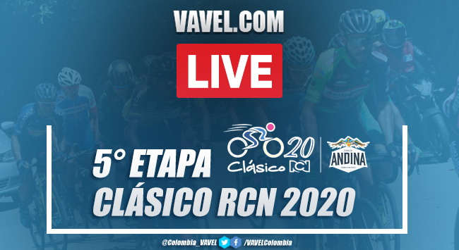 Resumen etapa 5 Clásico RCN 2020: (CRI) Quimbaya - Filandia