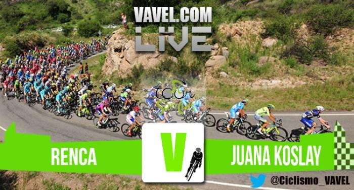 Resultado de la 5ª etapa del Tour de San Luis 2016: Tivani sorprende al mundo