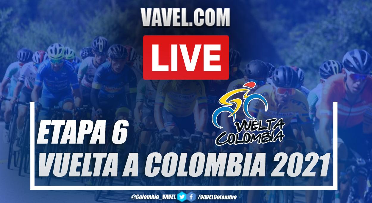 Resumen etapa 6 Vuelta a Colombia 2021: Chinchiná - Manizales (CRI)