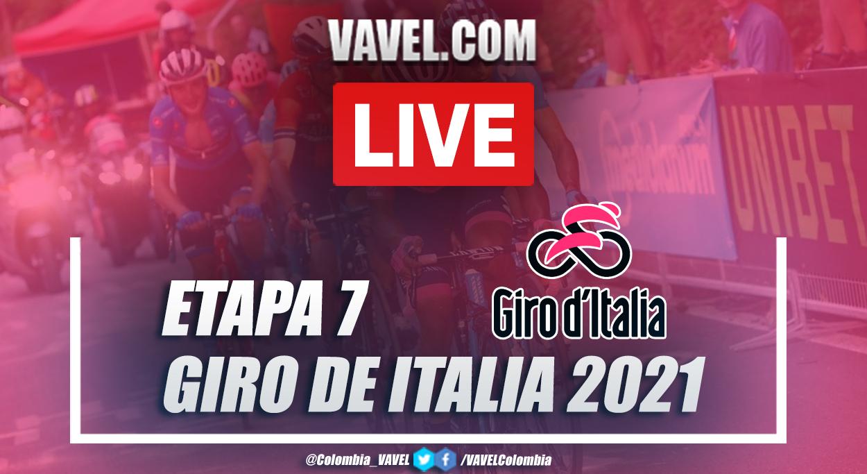 Resumen Etapa 7 Giro de Italia 2021: Notaresco - Termoli