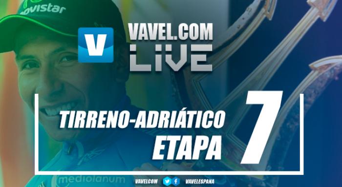 Resultado de la 7ª etapa Tirreno-Adriático 2017: Dennis vence, Quintana se lleva la general