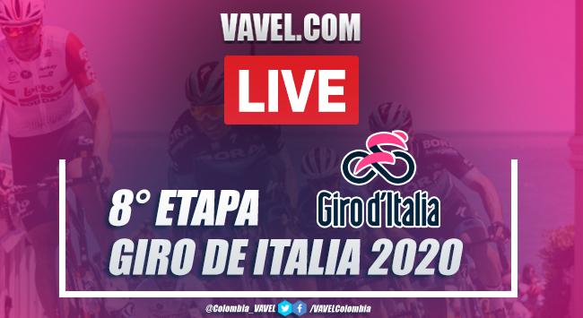 Giro de Italia 2020, resumen etapa 8: Giovinazzo - Vieste