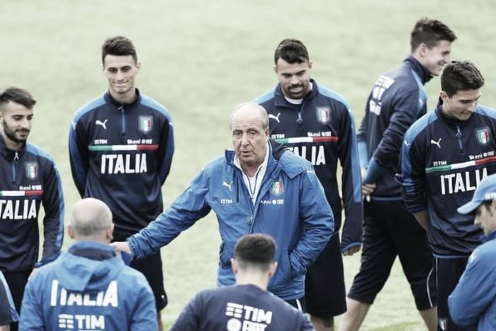 Italia, ecco lo stage: Ventura sperimenta il 4-2-4