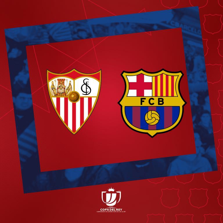 El Sevilla, rival del Barcelona en las semifinales de la Copa