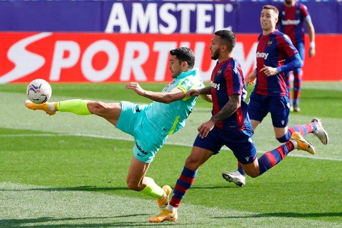 Resumen del Levante 2-2 Granada en LaLiga Santander 2021