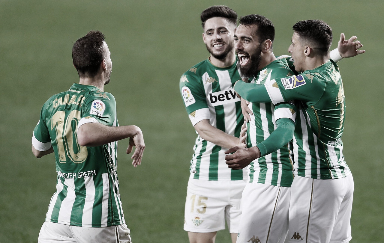 Borja Iglesias, baja para el Betis - Villarreal
