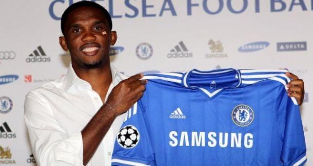 Samuel Eto'o rejoint Chelsea