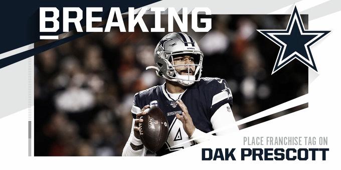 Los equipos de NFL colocan Franchise Tag a sus jugadores