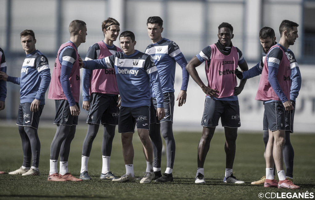 El Leganés ya entrena pensando en el Albacete