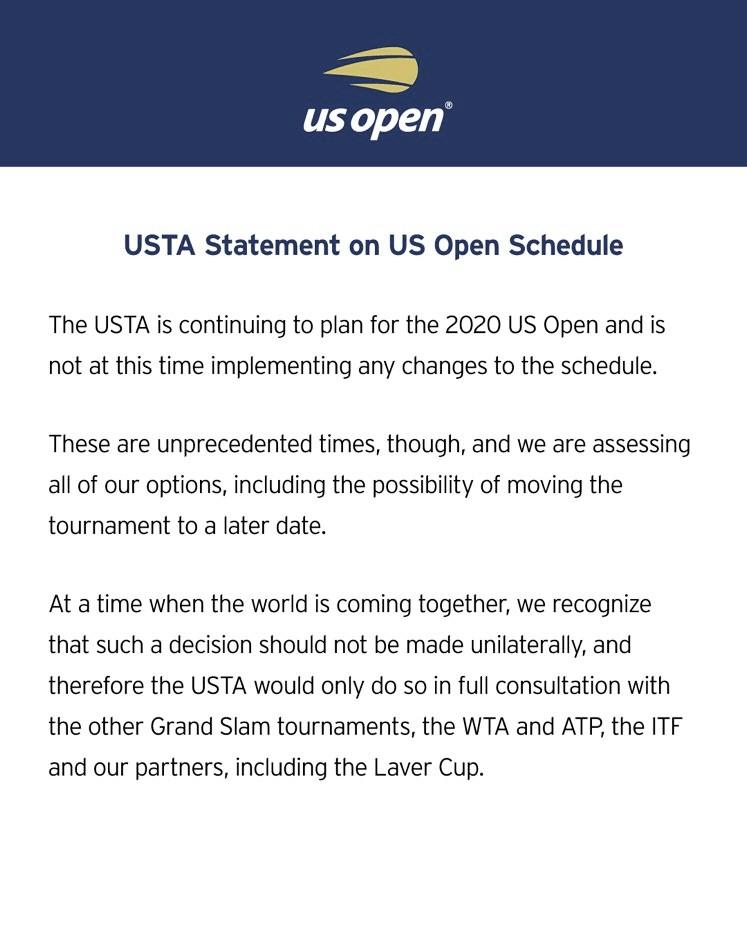Roland Garros, el US Open y la falta de coordinación en el tenis