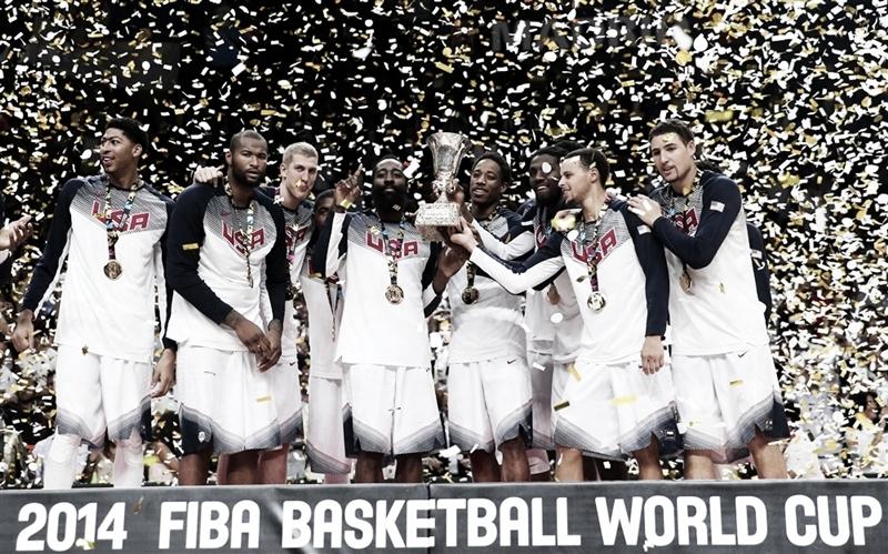 Maior campeão, EUA tenta sexto título; veja os maiores campeões da Copa do Mundo de Basquete