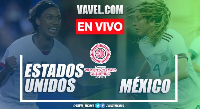 Resumen y goles: Estados Unidos 4-0 México en Preolímpico CONCACAF 2020