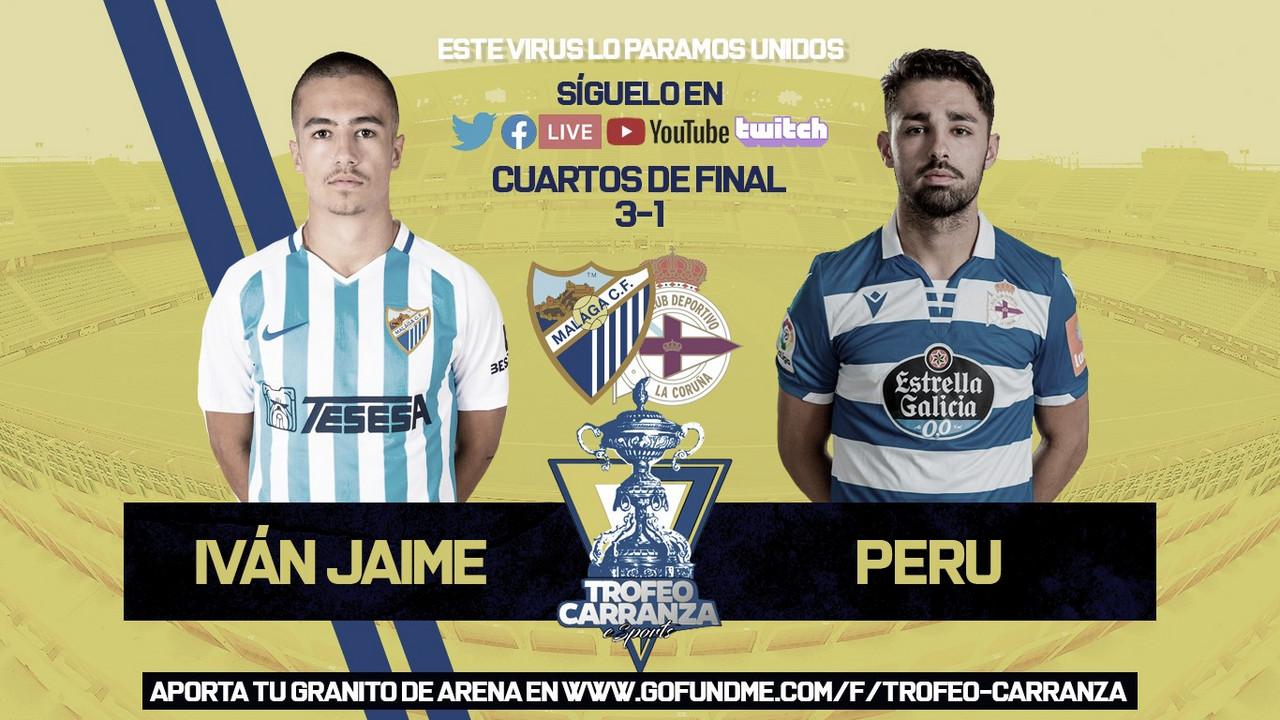 Iván Jaime, nuevo semifinalista del Trofeo Carranza eSports