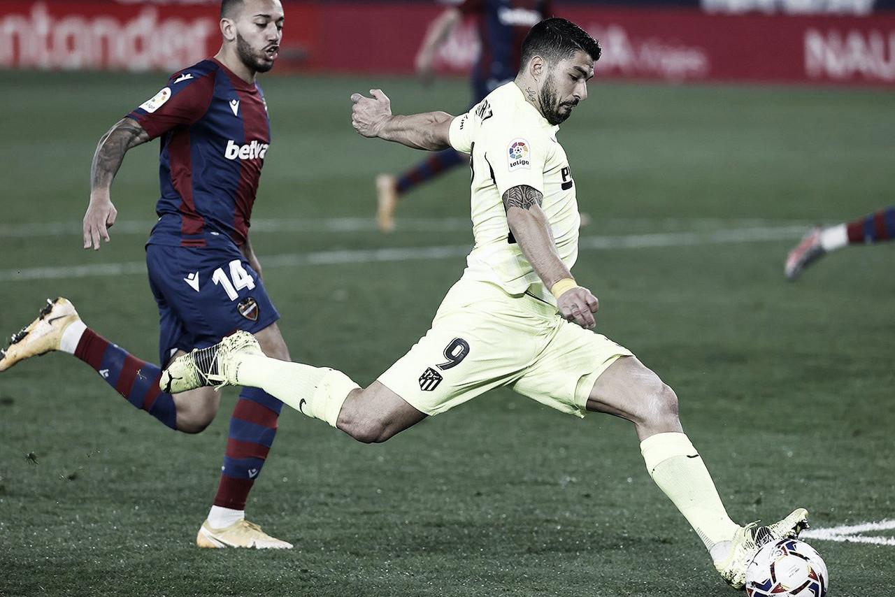 Resumen de Atlético de Madrid vs Levante en Laliga Santander 2021 (0-2)
