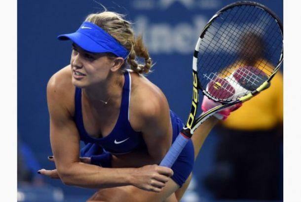 Bouchard superó a Zahlavova Strycova en el US Open