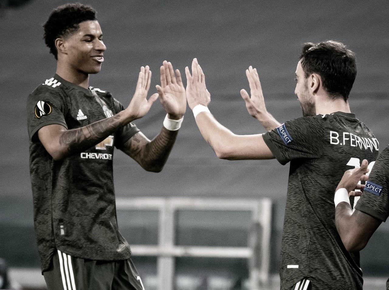 El Manchester United arrasa a la Real