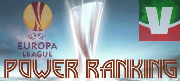 Europa League 2015/16: il Power Ranking