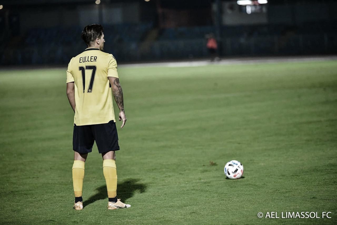 Euller avalia temporada do AEL Limassol e fala sobre primeiro ano no Chipre