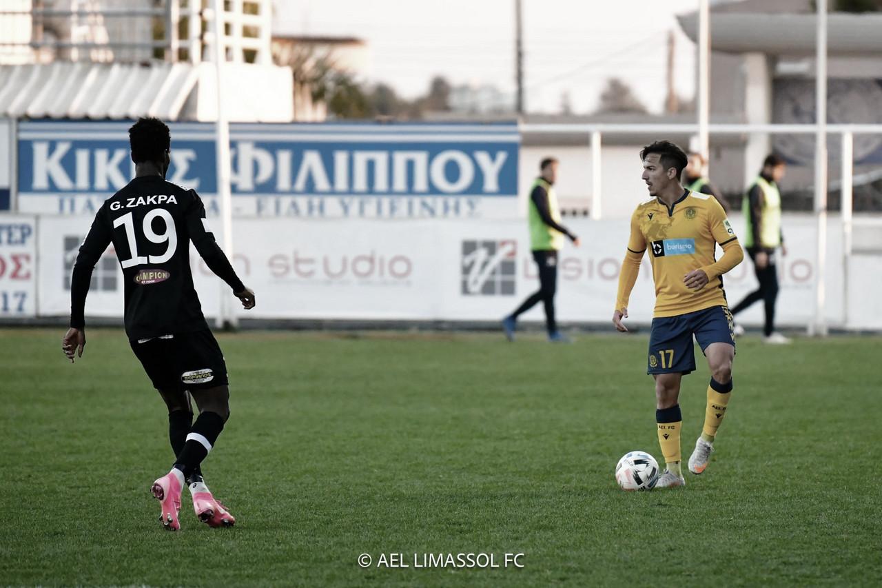 Euller reafirma busca por sequência como titular do AEL Limassol