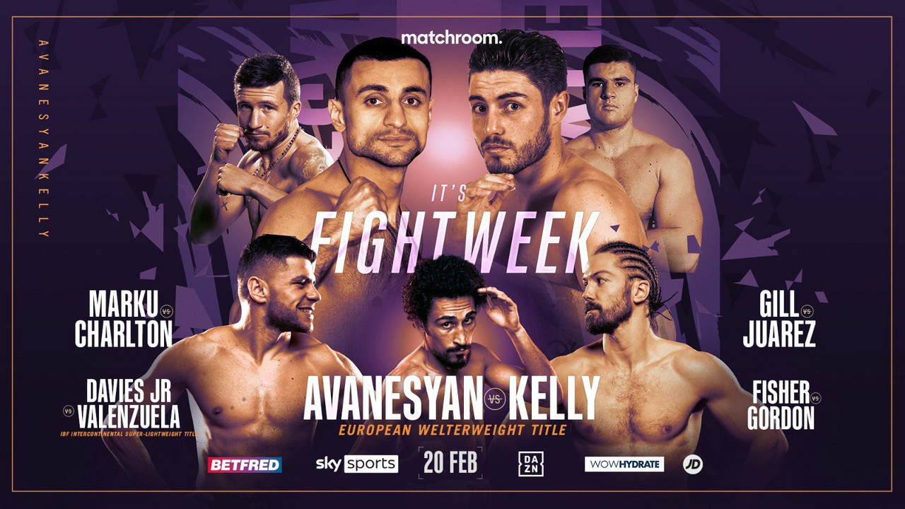 Matchroom Boxing Card Preview - Saturday 20th February