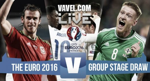Euro 2016 draw pairs England and Wales