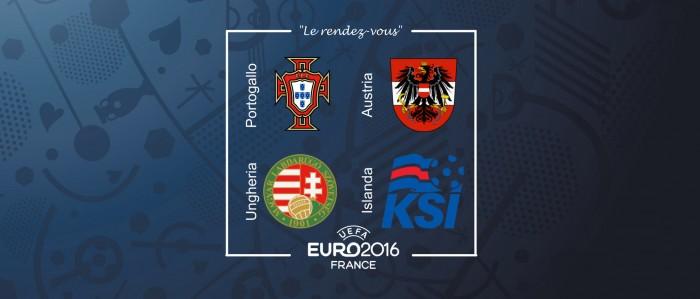 Euro 2016 - Gruppo F: l'avvicinamento di Austria, Portogallo, Ungheria e Islanda