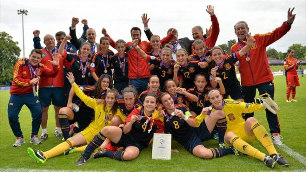 Cambio de sistema en la selección femenina sub-17