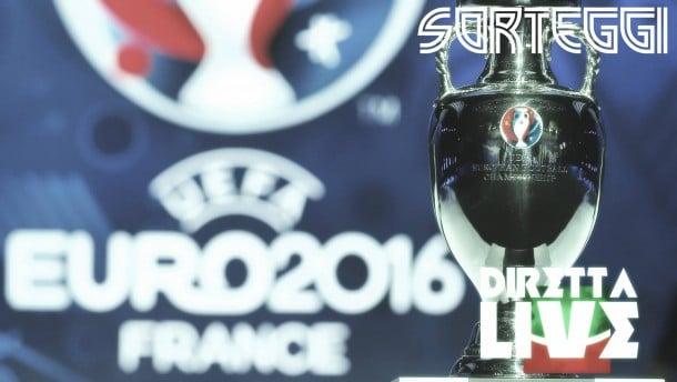 Euro 2016, i gironi: Italia con Belgio, Svezia e Irlanda
