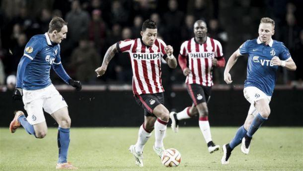 El PSV vuelve a perder sobre la hora con el Dinamo Moscú