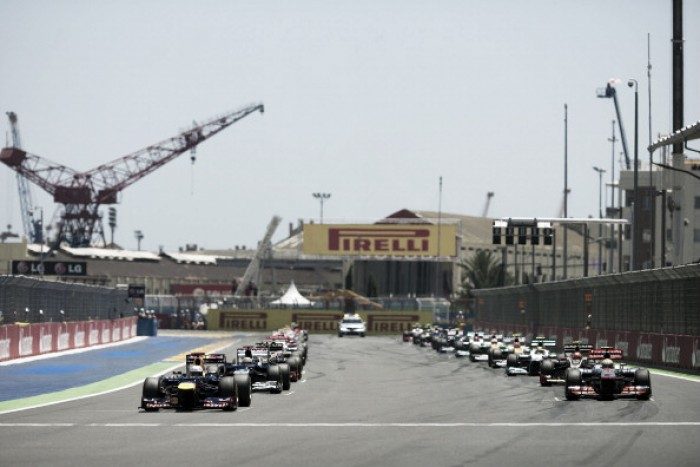 Estatísticas do Grande Prêmio da Europa de Fórmula 1