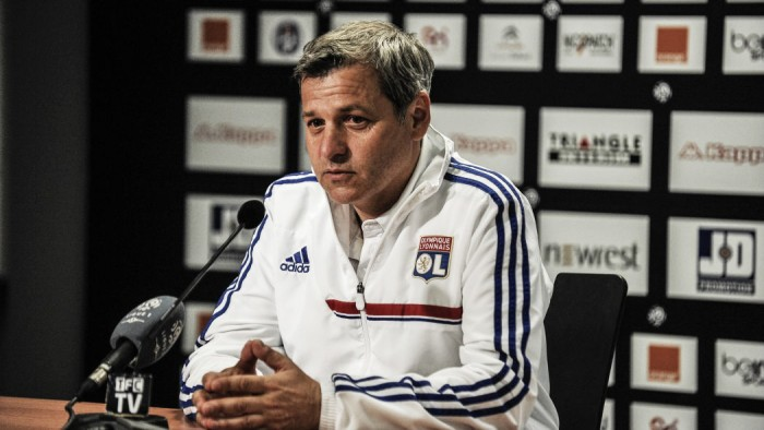 Bruno Genesio confirms that Alexandre Lacazette could leave Lyon this summer