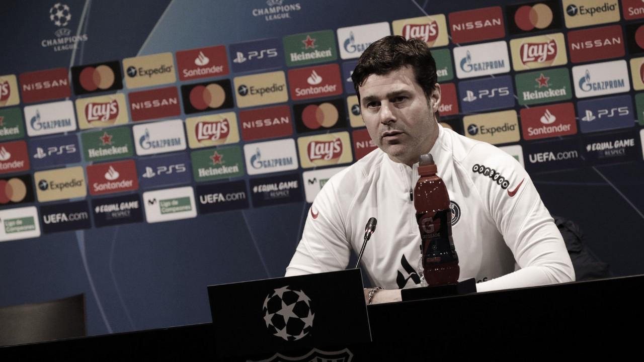 """Pochettino: """"El Barça ha crecido los últimos meses"""""""