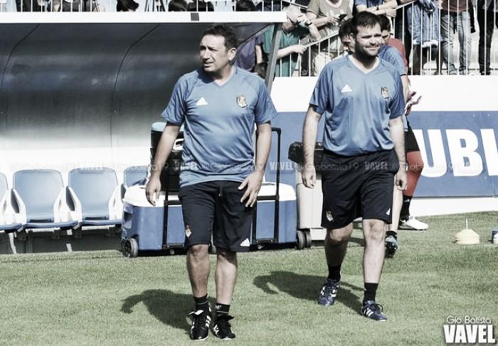 """Eusebio: """"Queremos mantener las sensaciones de los últimos partidos antes del parón"""""""