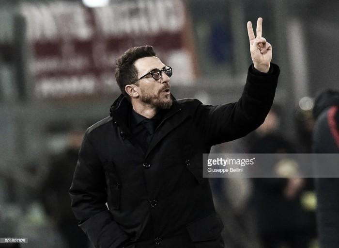 """Di Francesco: """"Nainggolan será titular en Milán"""""""