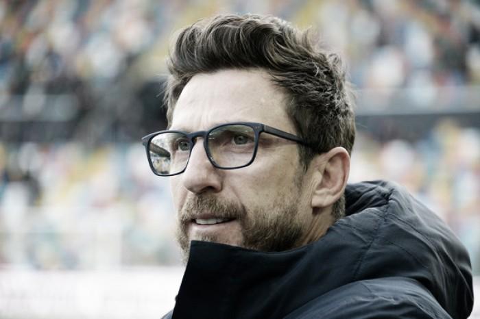 """Sassuolo, Di Francesco annuncia: """"Con la Roma out Gazzola e Mazzitelli. Mi aspetto più cattiveria sotto porta"""""""