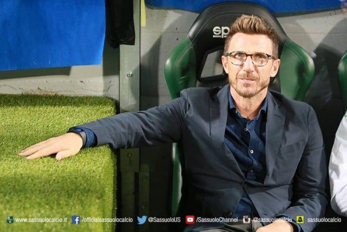 """Sassuolo, Di Francesco in conferenza: """"Onoriamo questa partita"""""""